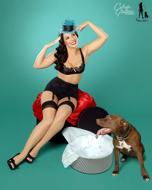Pinups for Pitbulls Photo Shoot